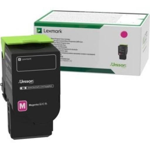 Lexmark C2320M0, Return Program Toner Cartridge Magenta, C2325, C2425, C2535, MC2640- Original