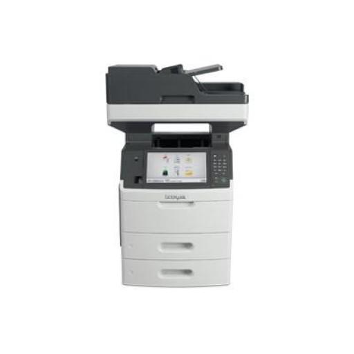 Lexmark MX710DHE A4 Mono Multifunctional Laser Printer