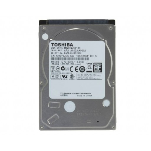 Toshiba MQ01ABD100, 1TB 5400RPM 8MB 9,5MM SATA