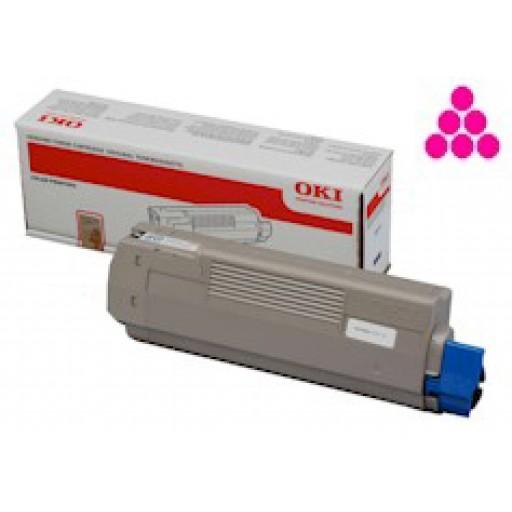 OKI 44059258 Toner Cartridges Magenta,OKI ES8451, ES8461- Genuine