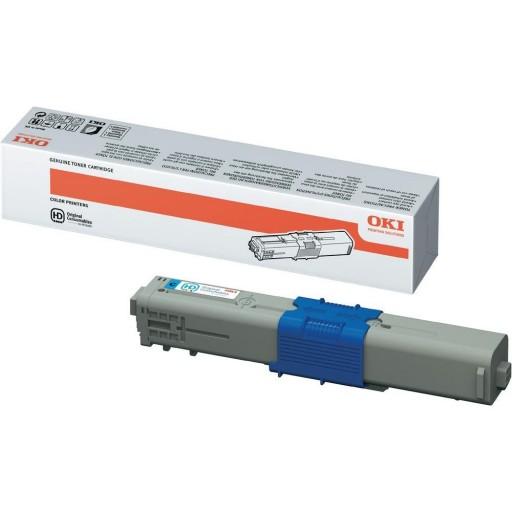 Oki 44469724, C510/C530 Toner Cartridge - Cyan
