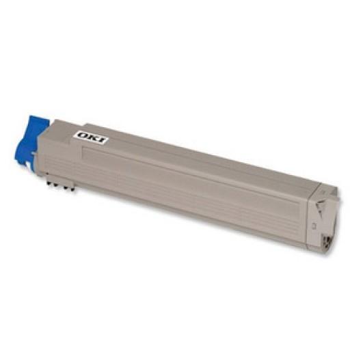 OKI 44643002 Toner Cartridge, C801, C821 - Magenta Genuine