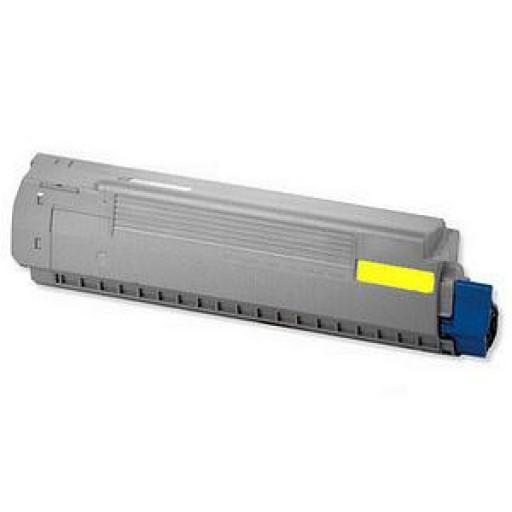 Oki 44844505, C831/841 Toner Cartridge - Yellow