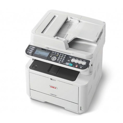 Oki MB472dnw, A4 Mono Multifunction Laser Printer