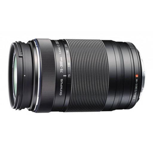 Olympus Pen 75-300mm (150-600mm Equiv) Black Lens