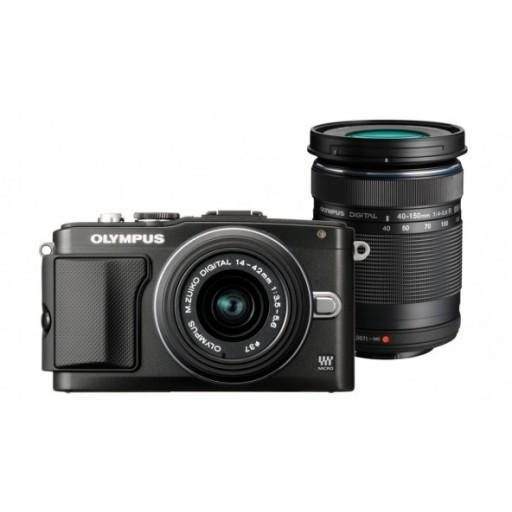 Olympus PEN E-PL5 Camera + Twin Lens Kit