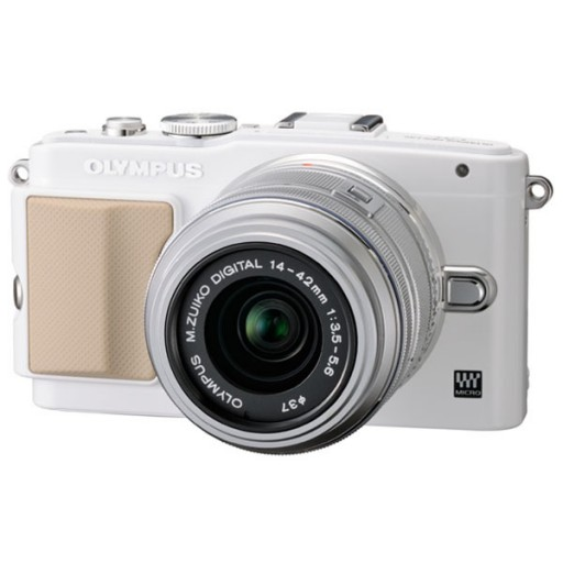Olympus PEN E-PL5 Silver Camera + 14-42 mm Lens Kit