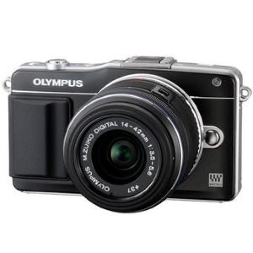 Olympus PEN E-PM2 Black  Camera + 14-42 mm Lens Kit