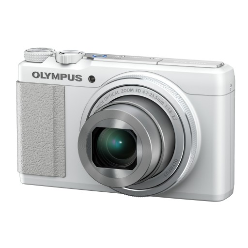 Olympus XZ-10 Compact Digital Camera in White