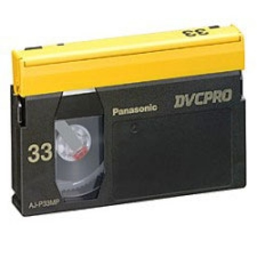 Panasonic AJ-P33MP, Digital Video Cassettes
