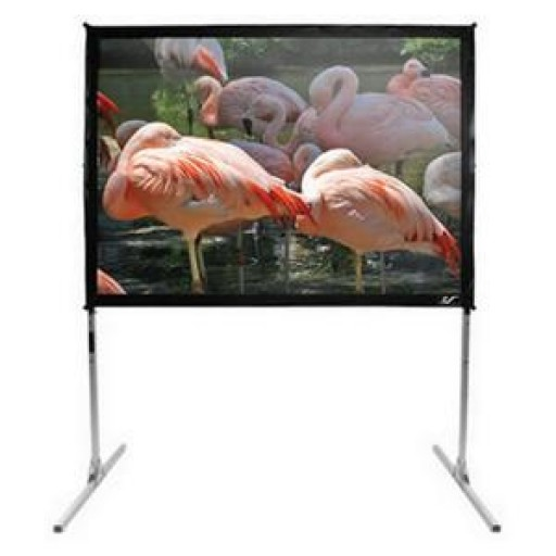 Elite Q100V-SILVER Quickstand Portable Projection Screen