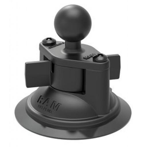 "Ram Mount RAM-B-224-1U, 3.3"" Diameter Suction Cup Base Mount"