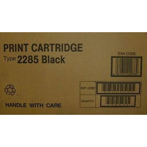 Ricoh  412477, Toner Cartridge Black, Type 2285- Genuine