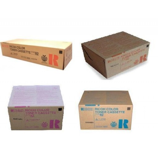 Ricoh Toner Cartridge Value Pack, Type R2, 3228C, 3235C, 3245C - Genuine