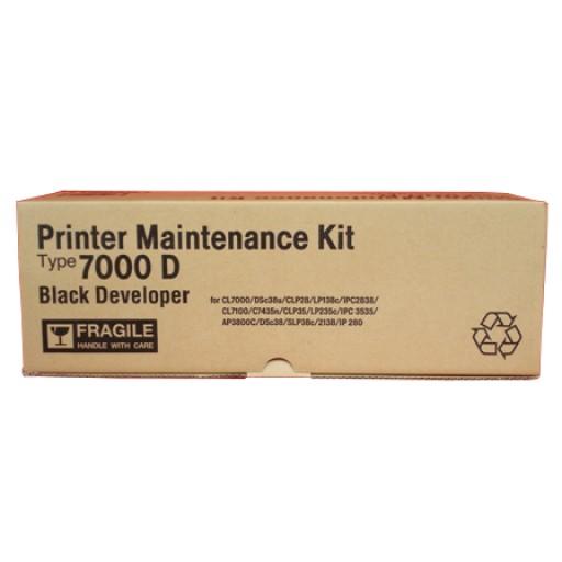 Ricoh 400962 Maintenance Kit Developer Unit Black, Type 7000D, AP3800C, AP3850C, AP3850CD, AP38CDT2, CL7000, CL7100 - Genuine