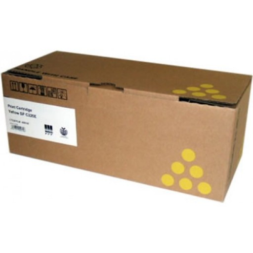 Ricoh 406147 Toner Cartridge Yellow, SP C220, SP C221- Genuine