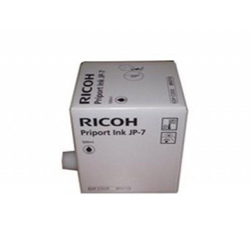 Ricoh 817161, Ink Cartridge Black, Type HQ90, HQ7000, HQ9000- Original