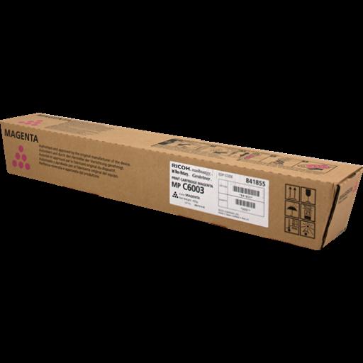 Ricoh 841855, Toner Cartridge Magenta, MP C4503, C5503, C5504, C6003, C6004- Original
