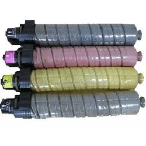Ricoh Toner Cartridge Value Pack, SP C820, SP C821 - Compatible