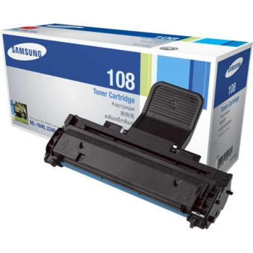 Samsung MLT-D108S Toner Cartridge, ML 1640, 2240 - Black Genuine