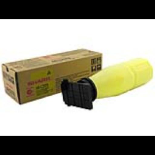 Sharp AR-C25T8 Toner Cartridge, AR C150, C160, C250, C270, C330 - Yellow Genuine