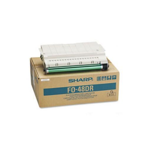 Sharp FO-48DR Drum Unit, FO 3450, 3850, 4800, 4810, 4850, 5400, 5450 - Black Genuine