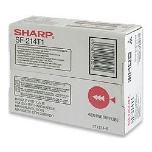 Sharp SF-214T1 Toner Cartridge, SF 214T1, 2014, 2114, 2214 - Black Genuine