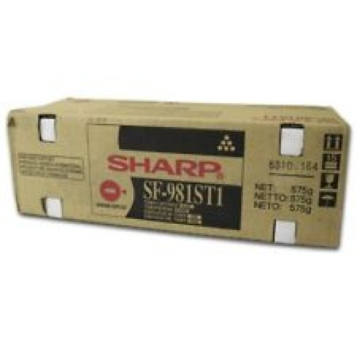 Sharp SF981ST1 Toner Cartridge, SF 9500, 9510, 9550, 9560, 9700, 9750, 9800 - Black Genuine
