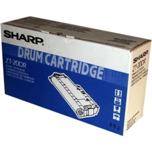 Sharp ZT20DR Drum Cartridge, Z20, Z25, Z26 - Black Genuine