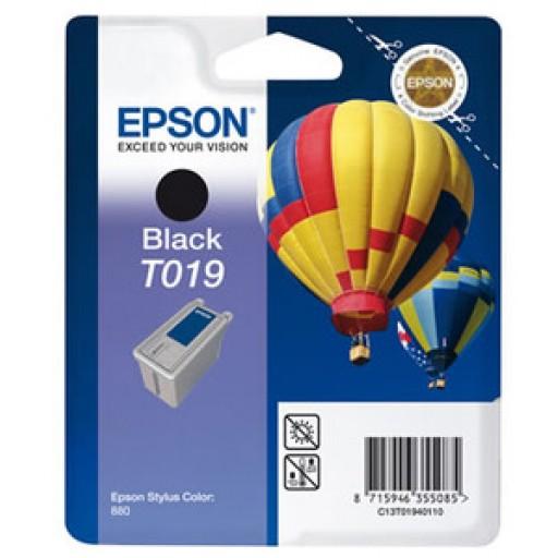 Epson T019 Ink Cartridge - Black Genuine