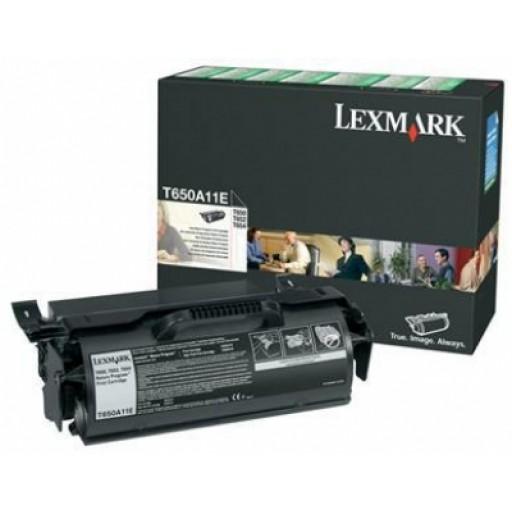 Lexmark T650A11E, T650/652/654 Return Program Print Cartridge - Black