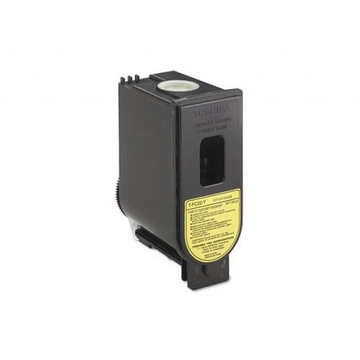 Toshiba T-FC22-Y Toner Cartridge, FC15, FC22 FC25P - Yellow Genuine