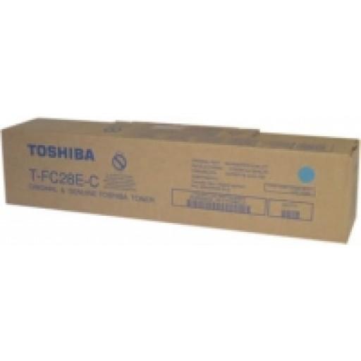 Toshiba T-FC28E-C, E-Studio 2330C, 2820C, 2830C, 3520C, 3530C, 4520C Toner Cartridge - Cyan Genuine