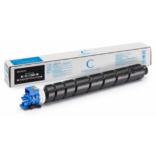 Kyocera TK-8515C, Toner Cartridge Cyan, TASKalfa 5052ci, 6052ci- Original
