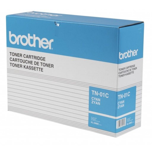 Brother TN-01C Toner Cartridge - Cyan Genuine