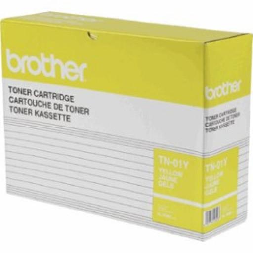 Brother TN-01Y Toner Cartridge - Yellow Genuine