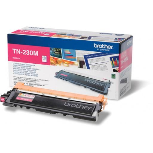 Brother TN230M, Toner Cartridge Magenta, DCP9010, HL3040, HL3070, MFC9120, MFC9320- Original