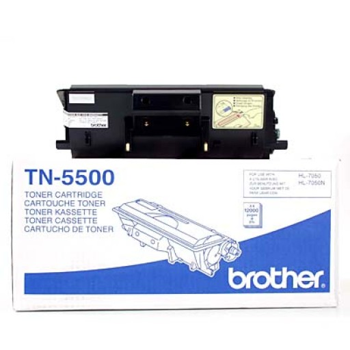 Brother TN5500, Toner Cartridge Black, HL7050- Original