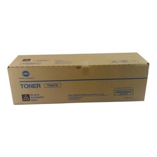 Konica Minolta TN-627K, Toner Cartridge Black, Accuriopress C12000, C14000- Original