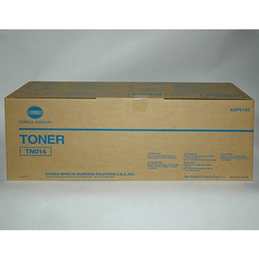 Konica Minolta TN014, Toner Cartridge Black, bizhub PRESS 1250, (A3VV130)- Genuine