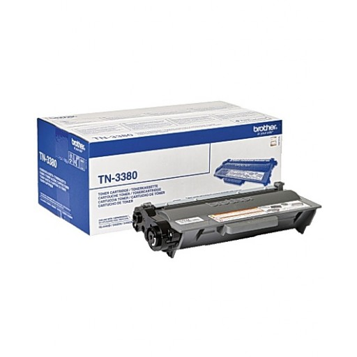 Brother TN3380, High Capacity Toner Cartridge - Black