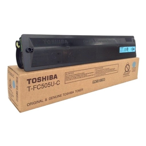 Toshiba 6AJ00000135, Toner Cartridge Cyan, E-Studio 2505, 3005, 3505, 4505, 5005- Original