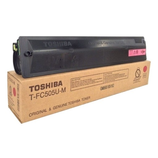 Toshiba 6AJ00000143, Toner Cartridge Magenta, E-Studio 2505, 3005, 3505, 4505, 5005- Original