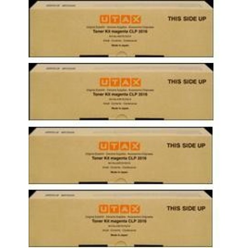 UTAX CLP 3571 Toner Cartridge - Value Pack
