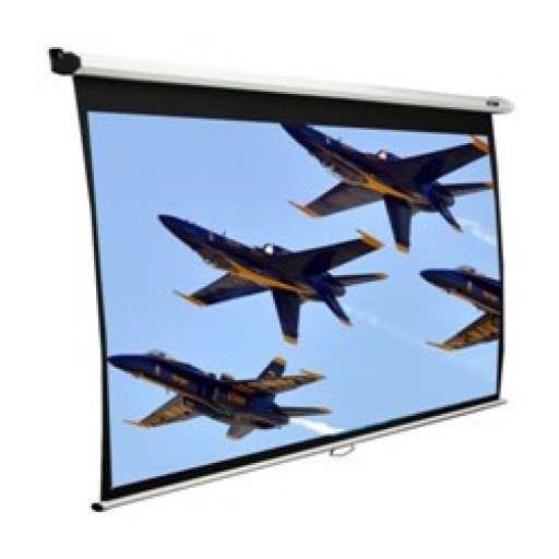 Elite VMAX120XWH2-WHITE Electric VMax Projection Screen
