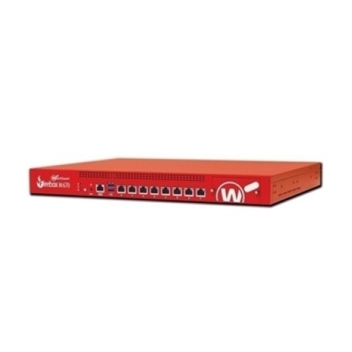 WatchGuard WGM67073, Firebox M670 High Availability with 3 Years Standard Support