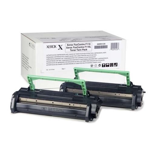 Xerox 006R01235 Toner Cartridge, FaxCentre 1012, F116 - Twin Pack Black