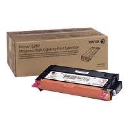 Xerox 106R01405 Metered Toner Cartridge Magenta, Phaser 6280 - Genuine