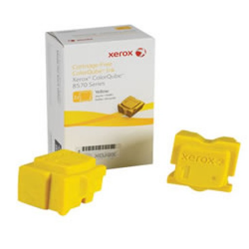Xerox 108R00933 Solid Ink Sticks, ColorQube 8570 - Yellow Genuine