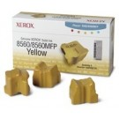 Xerox Phaser 8560 Solid Ink Sticks - 3 x Yellow Genuine (108R00725)